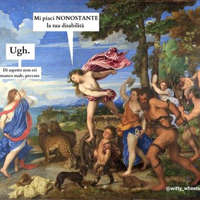 Bacco e Arianna - Tiziano (1520 ca.) post di instagram