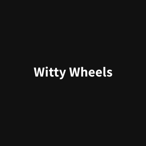 witty wheels banner color ferro