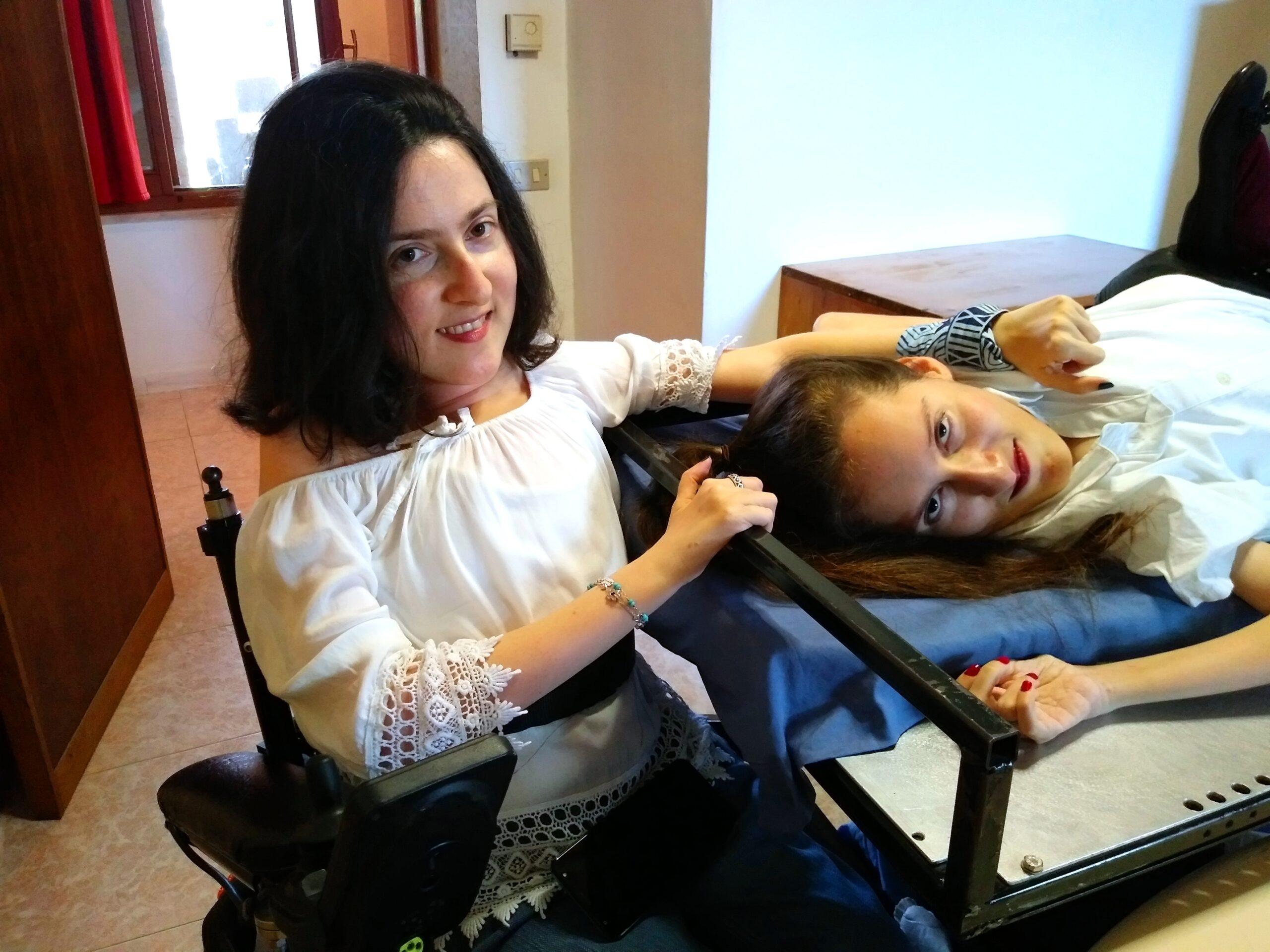 Maria Chiara e Elena Witty Wheels